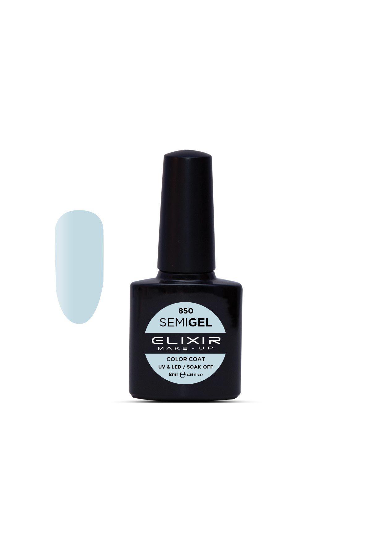 Elixir Make-up Semigel Ημιμόνιμο Βερνίκι No850 Bubbles 8ml