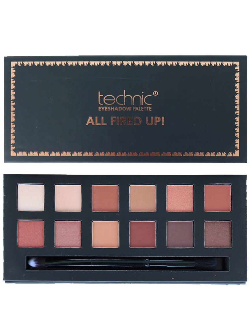 Technic All Fired Up Eyeshadow Palette