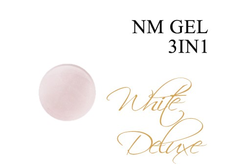 NM gel 3in1 WHITE DE LUXE